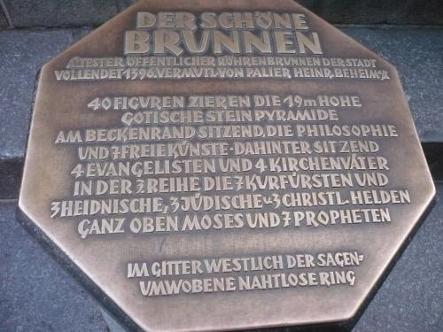 Nürnberg 029 Der schöne Brunnen