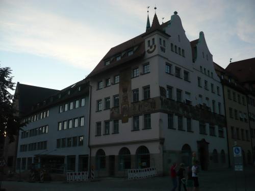 Nürnberg 028 abendliches Altstadttmotiv