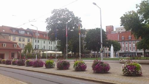 HIRSCHGARTEN Blick zur Neuwerkstraße