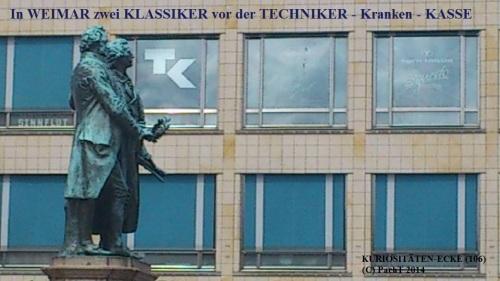 KURIOS 106 Weimarer Klassiker bei TechnikerKKasse
