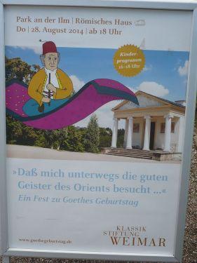 Goethe 265. Geburtstag 2014 _ 3