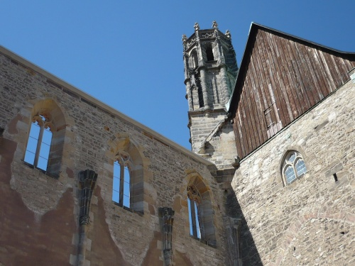 ERFURT - Ruine der Barfüßerkirche