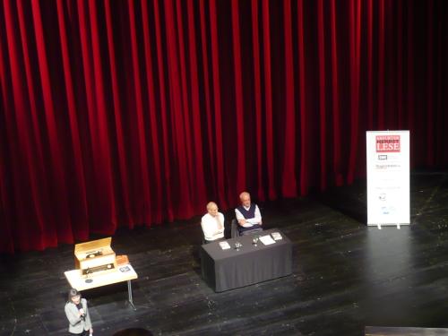 2014 EF Herbstlese_ Lochthofen u. Pleitgen 5 Dialog