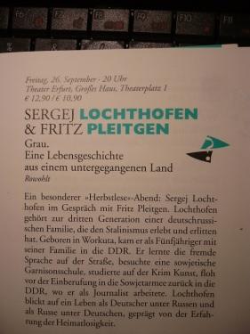 2014 EF Herbstlese_ Lochthofen u. Pleitgen 2 Inhalt