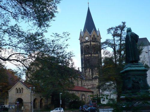 Eisenach  Nikolaikirche u. Luther