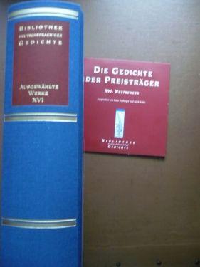 Bibliothek dtschspr. Gedichte 2013_Band XVI_Buchrücken