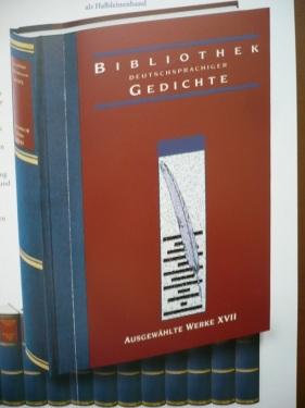 Bibliothek dtschspr. Gedichte 2014_ 04 Edition Bd. XVII.
