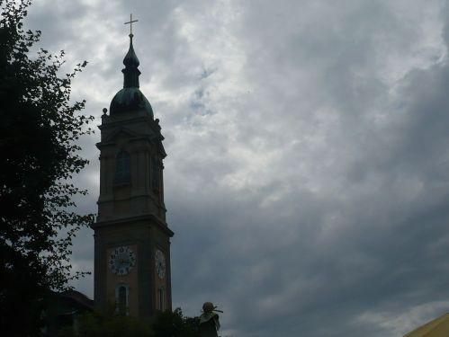 Eisenach  Turm der Georgenkirche
