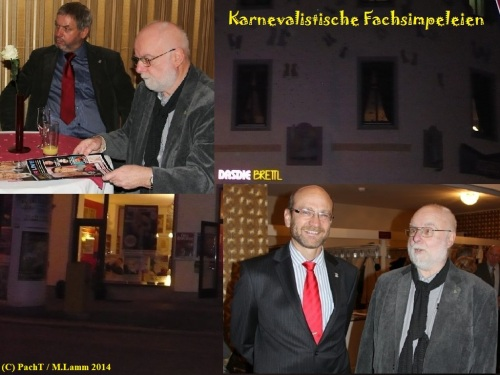 PachT 2014 Karnevalistische Fachsimpeleien