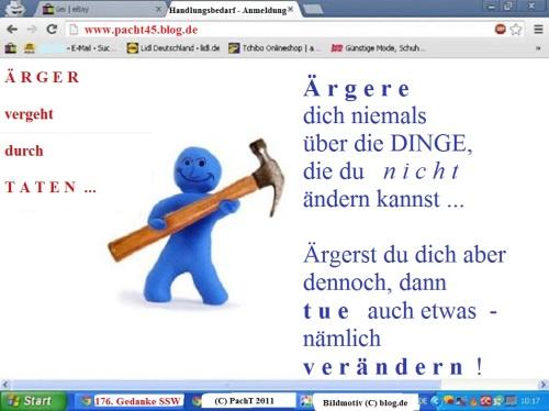 SSW176.Gedanke_Nicht ärgern - handeln ...
