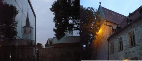 Erfurt Augustinerkloster u. Nikolaiturm 2