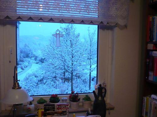 PachTs Blick vom ArbZimmer i.d.Winter 1