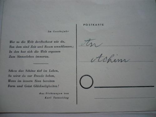 1887 - 1974  Erinnerung an meinen Opa Gedicht