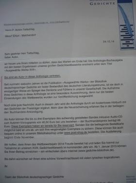 Bibliothek dtschspr. Gedichte 2014_ 03 Edition Bd. XVII.