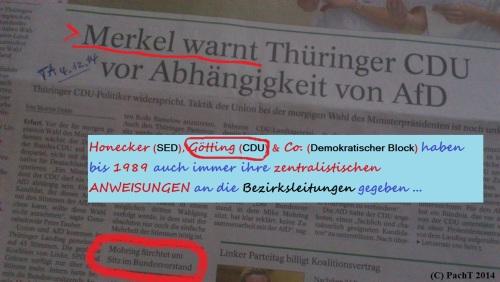 25 LT-WAHL 2014 Thüringen Nachlese