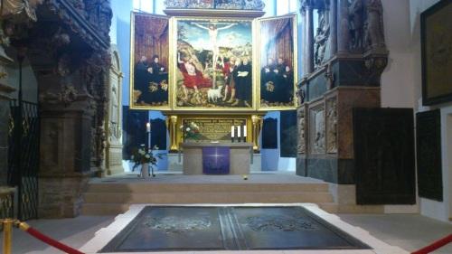 Weimar HerderKirche L-Cranach-Altar