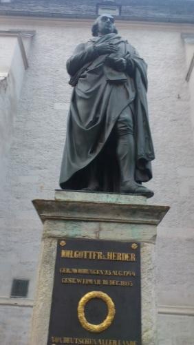 Weimar Herderplatz  Denkmal