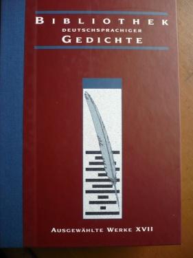 Bibliothek dtschspr. Gedichte 2014_ Bd. XVII _ Mein Wunsch