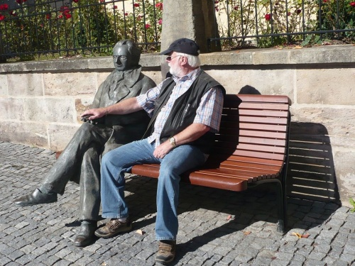 Ilmenau - 02 Begegnung mit Goethe