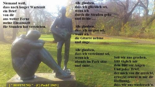Gedicht im Bild_ Hoffnung 1965