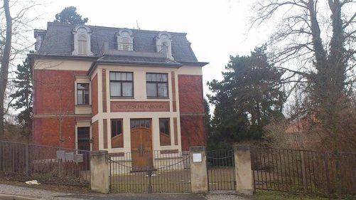 Weimar Humboldtstraße Nietzsche-Archiv