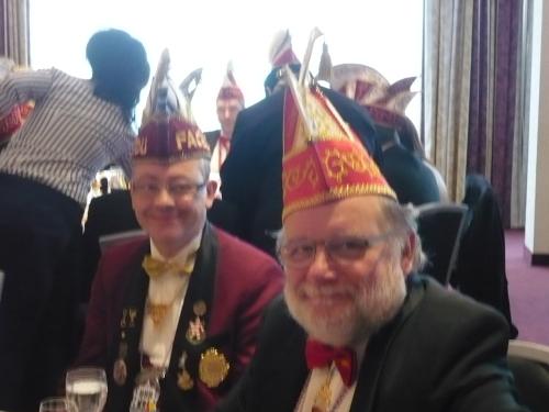 2015.01.18 PrinzenFrühstück 08 FaCeDu-Präsident und sein Vize