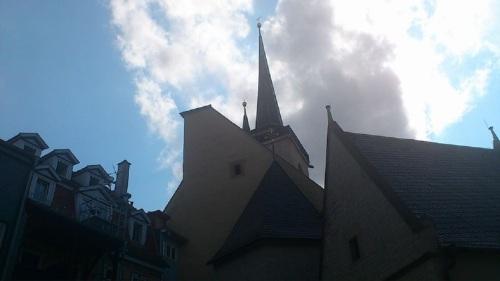 Allerheiligenkirche von Kirchgasse her