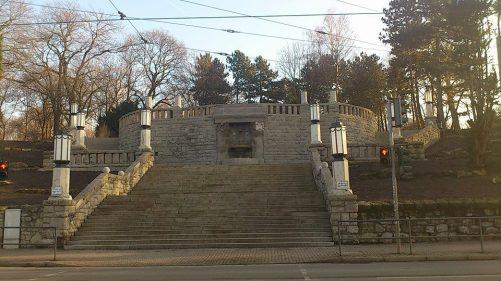 Stadtpark - Aufgang