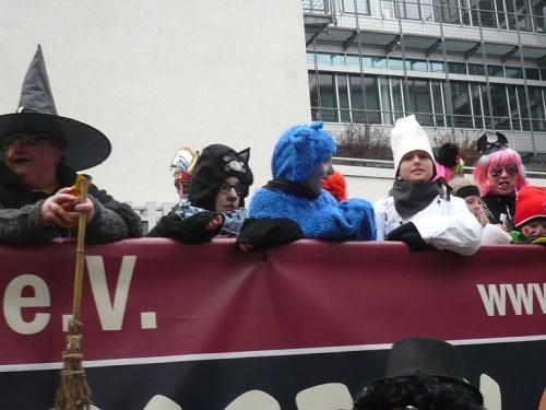 2015.02.15 GEC-KarnevalsUmzug 21 Mein Verein Sein Kinder-Wagen