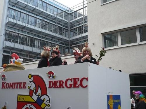 2015.02.15 GEC-KarnevalsUmzug 07 Meine SB-Freundin Moni