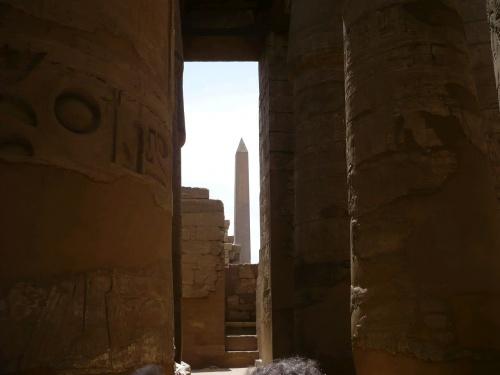 85 Luxor Karnak-Tempel Säulenhalle