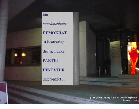 SSW429.Gedanke_Der Demokrat heutzutage
