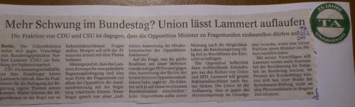 PachT PresseArtikel TA 2015.02.25 Demokratie