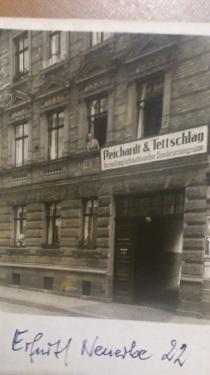 1887 - 1974 6 Entwicklungen meines Opa RUTET_Strahler Geschäftshaus