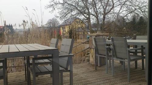 Erfurt Villa HAAGE Blick vom Salon zur Terrasse