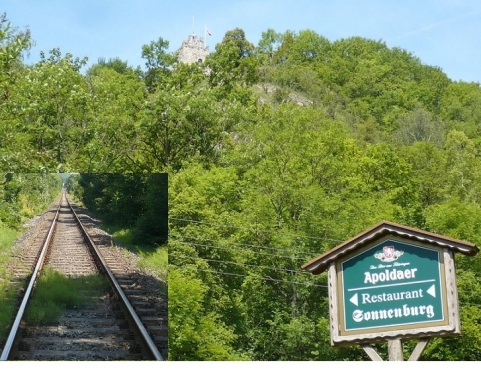 Bad Sulza 25 Kurs auf Sonnenburg
