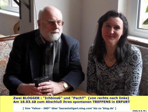 16.03.2010 Erfurt Kleines Blogger-Treffen
