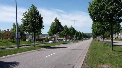 Weimarische Straße _ stadteinwärts B7