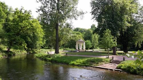Weimar GoetheSpur 15 Schloß Tiefurt