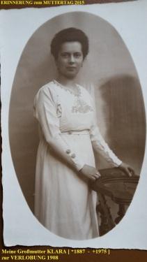 1887 - 1975 Erinnerung an meine Oma zum Muttertag 2015