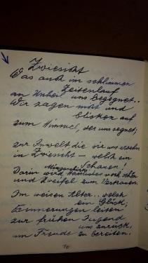 1887 - 1974 Erinnerung an meinen Opa Innedenksprüche Tgb 04