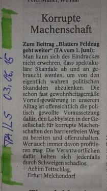 PachT in PresseTA_Leser-Seite 2015.06.03_Machenschaften