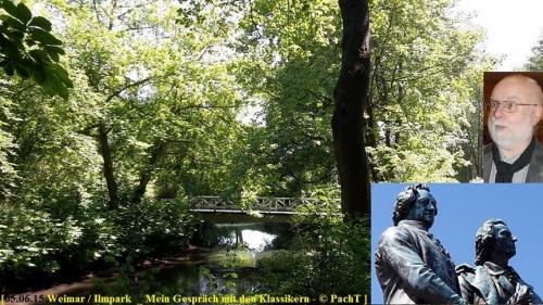 PachT 2015.06.05 im Gespräch mit Goethe u. Schiller in WE