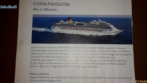 002_7.KreuzSchiffFahrt Costa FAVOLOSA