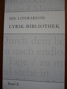 PachT in LyrikBibliothek Bd. X 2009