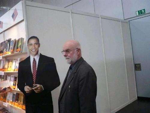 PachT und Obama zur Leipziger Buchmesse 2009