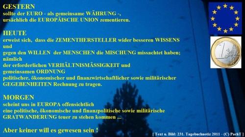 SSW231.Gedanke_EuROpa