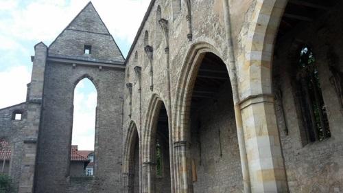 Barfüßerkirche Ruine 5