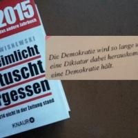 14.07.15 # DEMOKRATIE und WAHRHEIT #