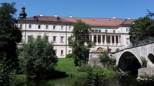 Weimar Stadtschloß mit Turm u. Brücke